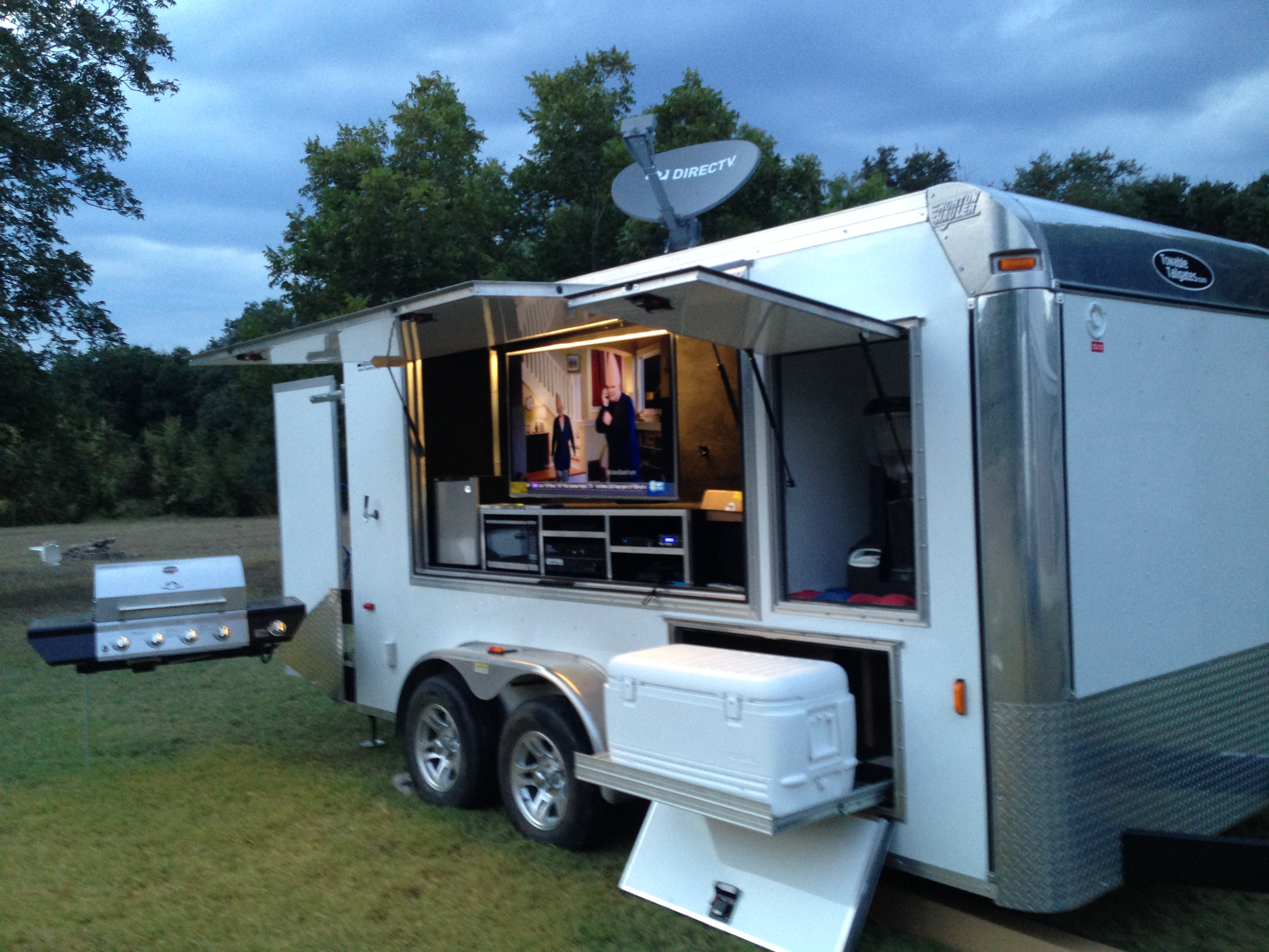 Tailgate Trailer Rentals In College Station For Aggies At